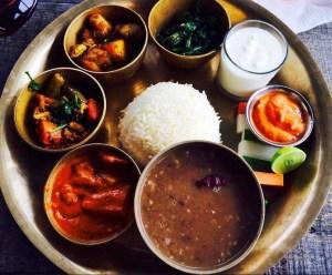 Nepálban étel