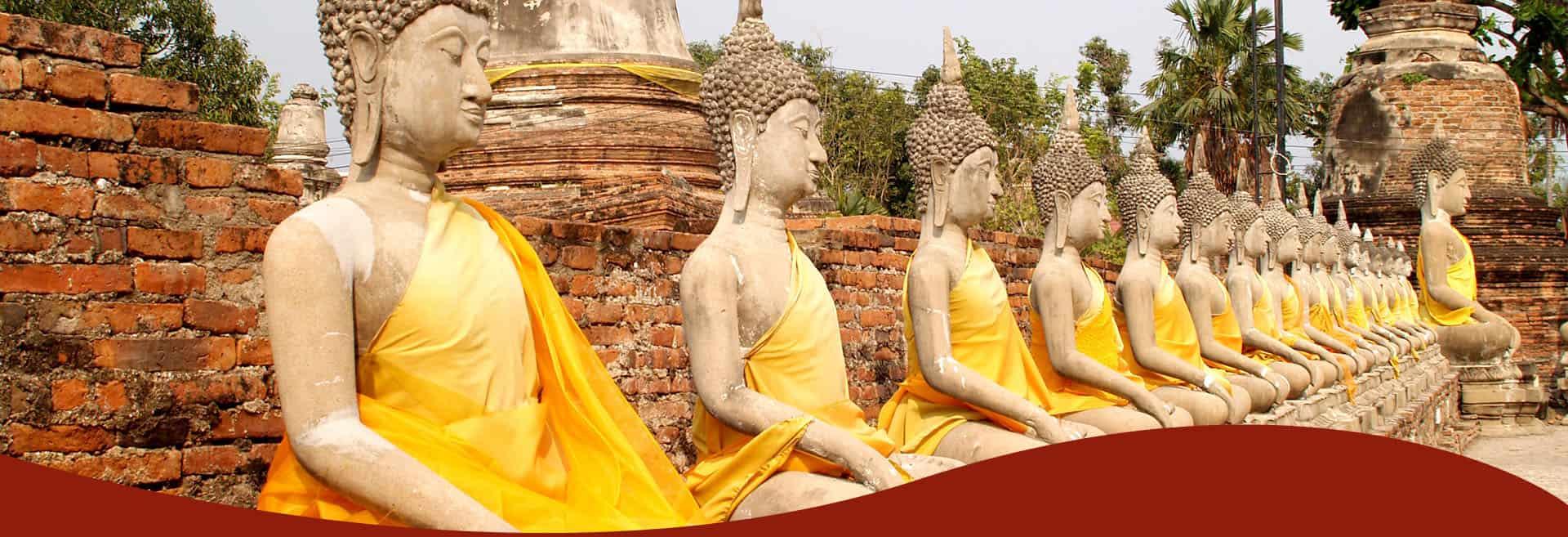 Buddha szobrok