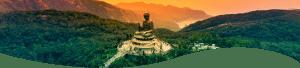 Buddha szobor völgyben