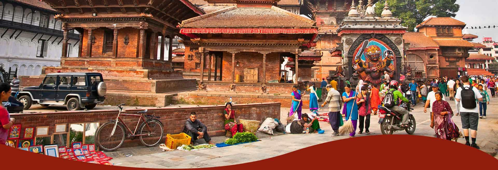 Nepál utcája